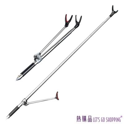 LGS 釣魚延伸支架 2.1m 不鏽鋼材質支架 (1支)