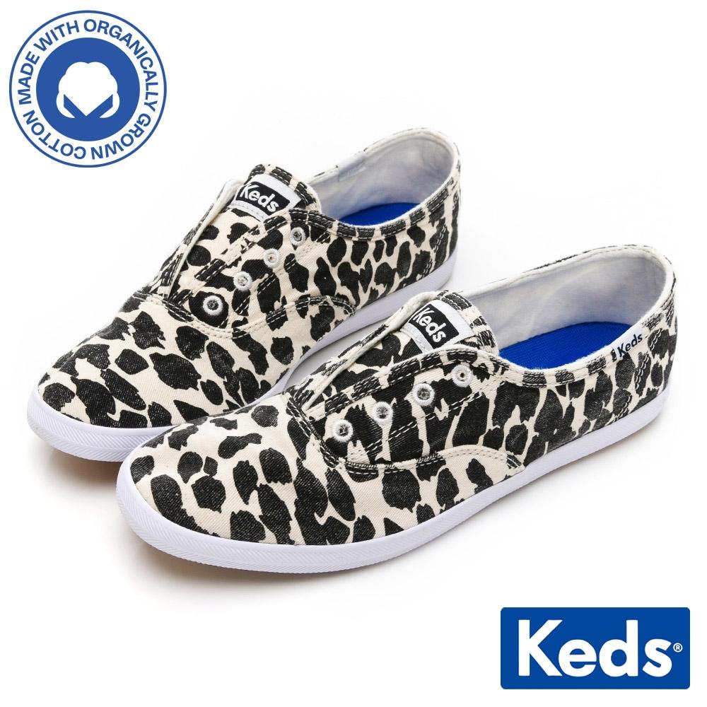 Keds CHILLAX 時髦動物圖紋EVA輕量休閒鞋-豹紋