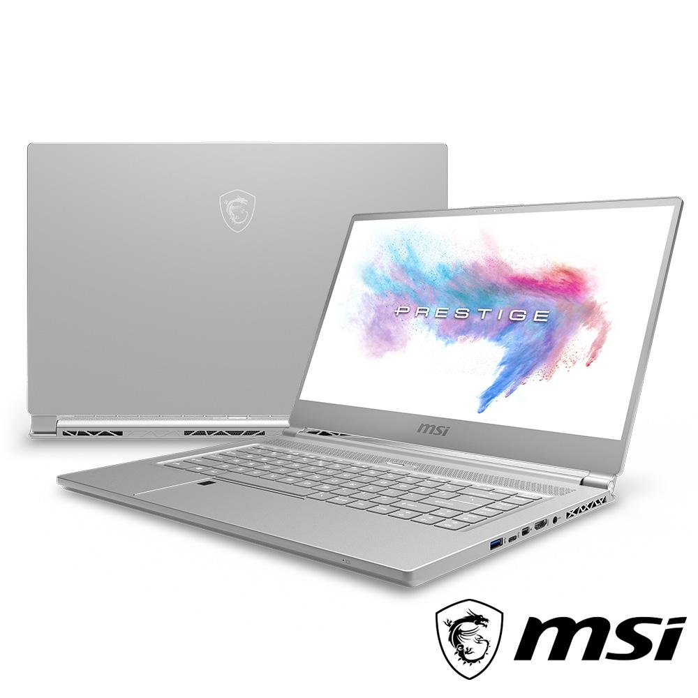 MSI微星 P65-208 15吋窄邊框創作者筆電(i5-8300H/GTX1050Ti/16G
