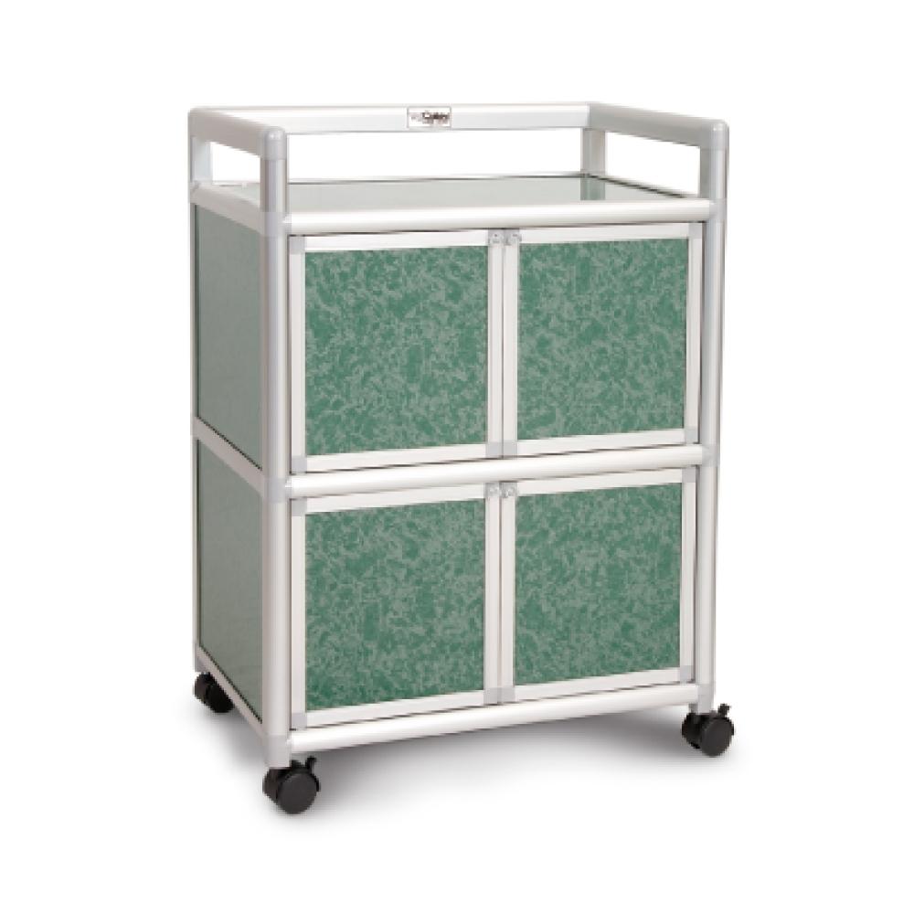 Cabini小飛象-花崗綠得意1.8尺鋁合金4門餐櫃-60.4x41.1x83.6cm