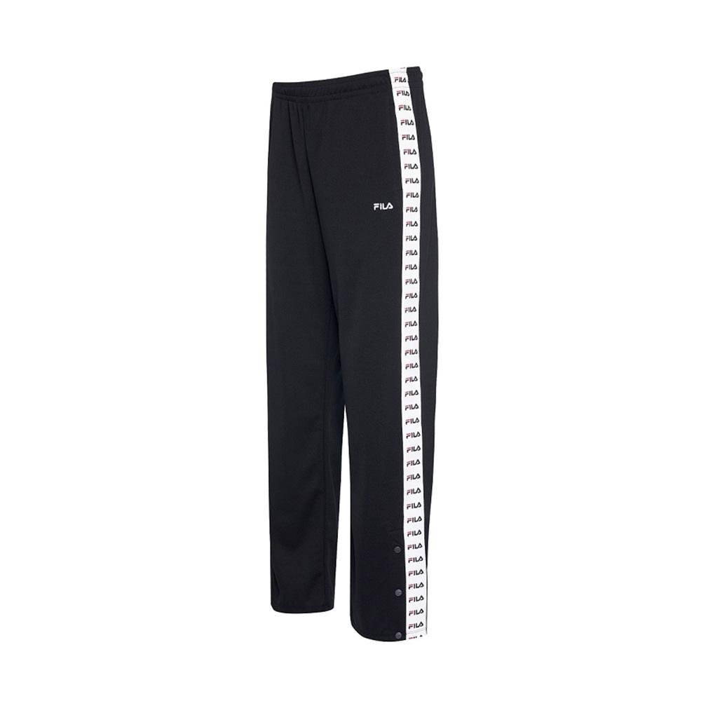 FILA 女吸濕排汗長褲-黑色 5PNV-1485-BK