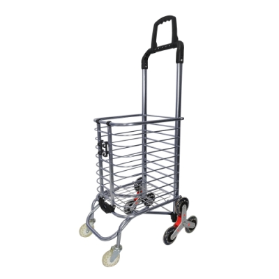 Incare第五代升級版360 8輪爬梯購物車布袋隨機出貨