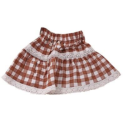 格紋短裙 k50295 魔法Baby