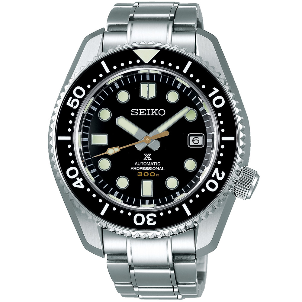 SEIKO精工 Prospex海洋大師300米潛水機械錶(SLA021J1)-44.3mm