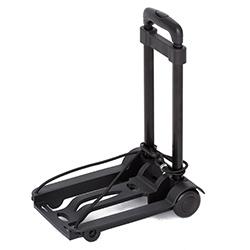 ABS愛貝斯 超輕巧萬用車 拉桿車 手拉車 折疊購物車(黑)26-018
