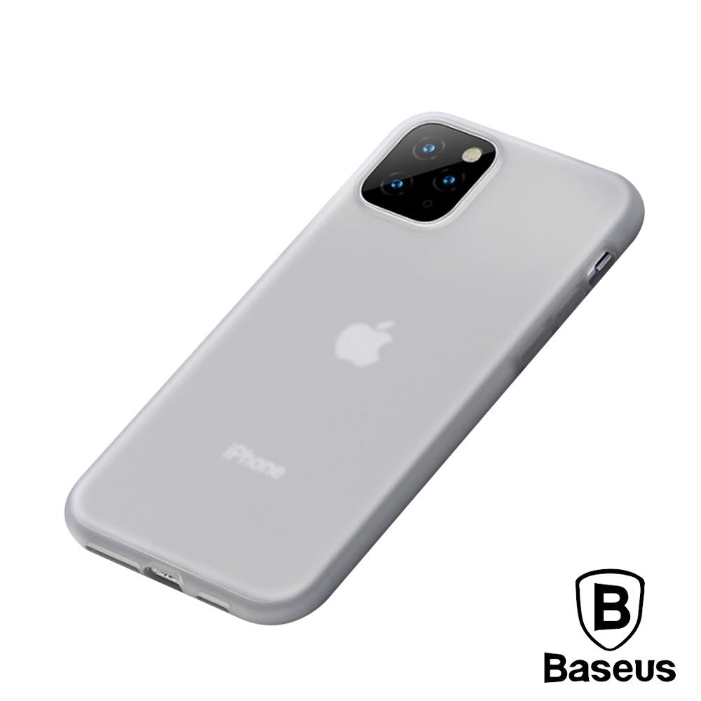 倍思 iPhone11 Pro Max 液態矽膠防刮抗油污軟殼保護套
