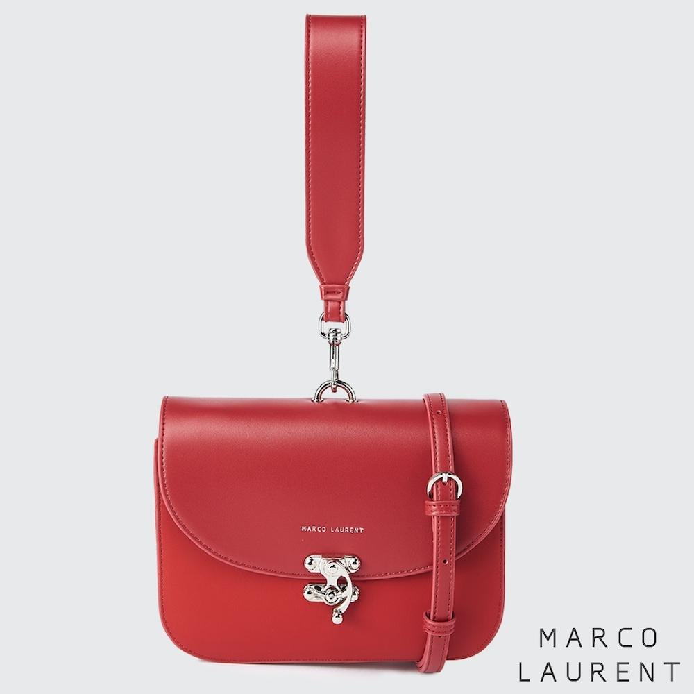 MARCO LAURENT Swing 兩用手拿肩背包 - 紅色