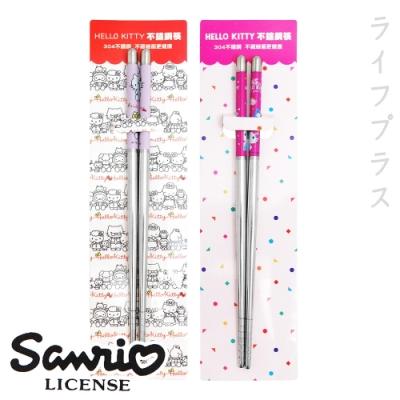 HELLO KITTY不鏽鋼筷-18.5cm-6雙入