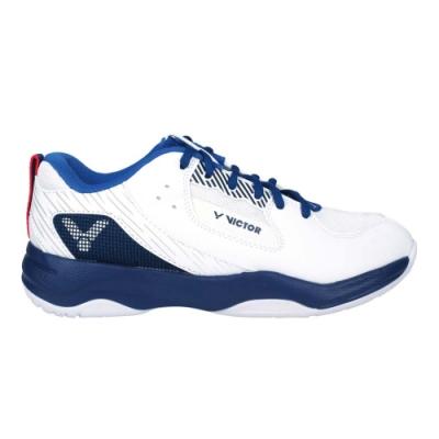 VICTOR 男女羽球鞋-訓練 運動 寬楦 3E 勝利 A311-AF 白丈青藍