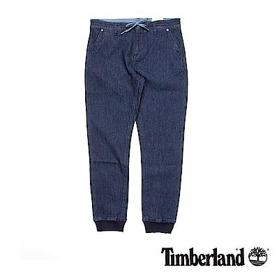Timberland 男款藍色彈性抽繩褲