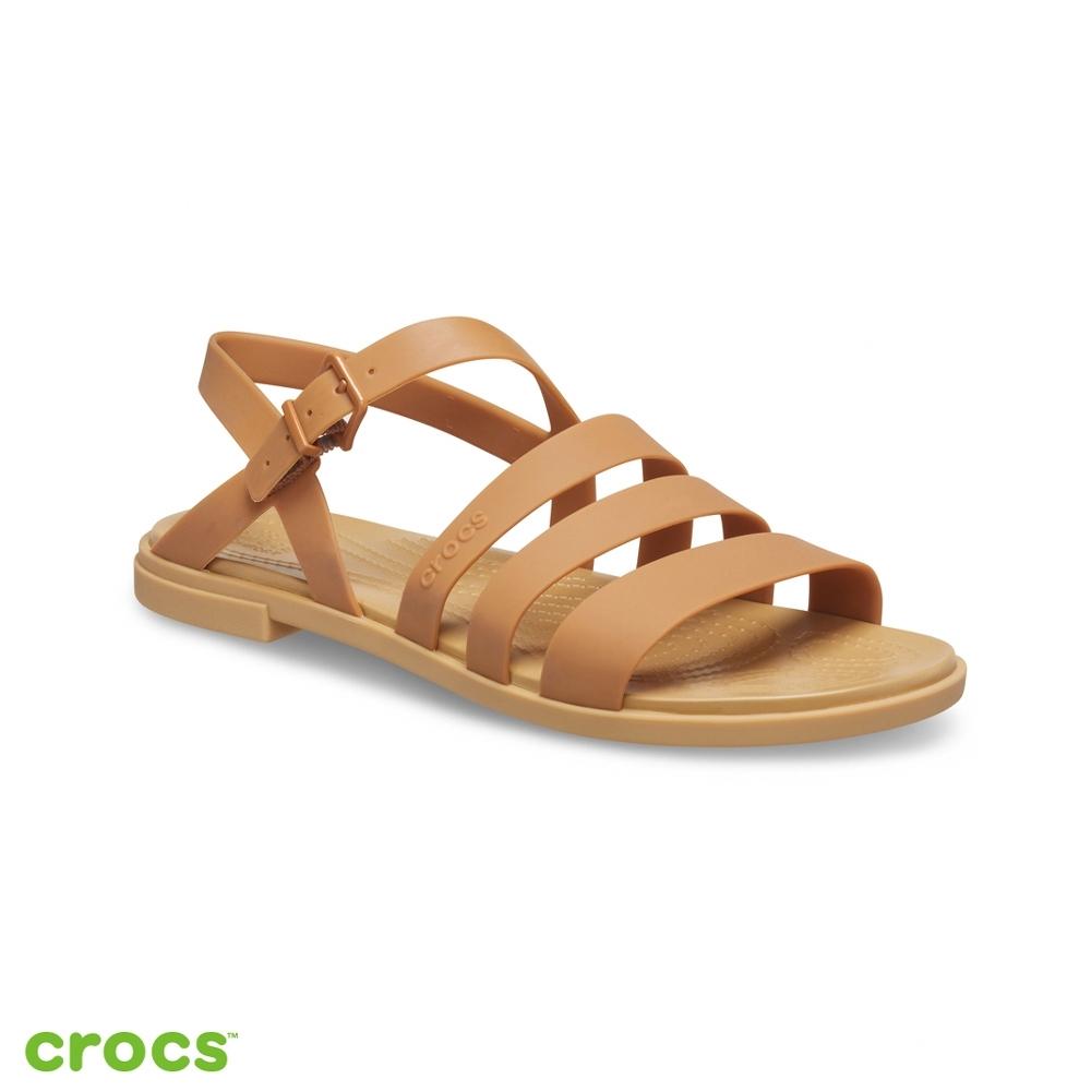 Crocs卡駱馳 (女鞋) 特蘿莉度假風女士涼鞋-206107-277
