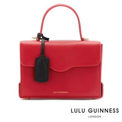 LULU GUINNESS QUEENIE 側背包 (紅)