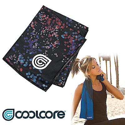 印花系列 COOLCORE Chill Sport涼感運動巾【離散點點】