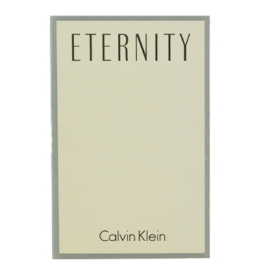 *Calvin Klein 永恆女性淡香精針管 1.2ml