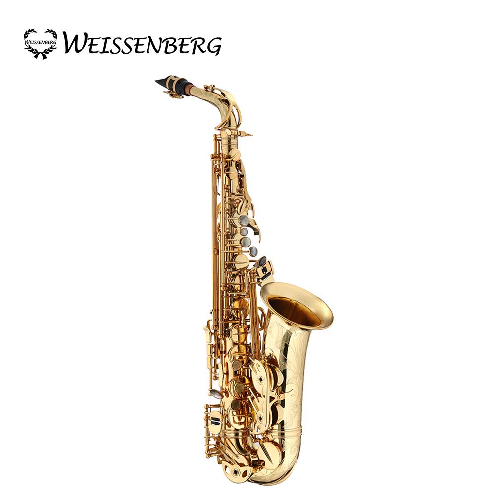 Weissenberg A-605GL #391 Alto 中音薩克斯風 限量專家藝術款