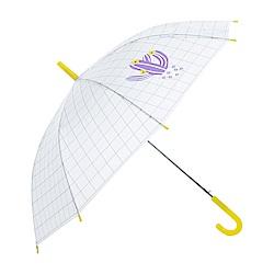 樂嫚妮 自動開傘/直立雨傘-多肉植物仙人掌- 黃