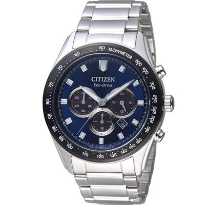 CITIZEN 星辰 光動能計時腕錶(CA4454-89L)43mm