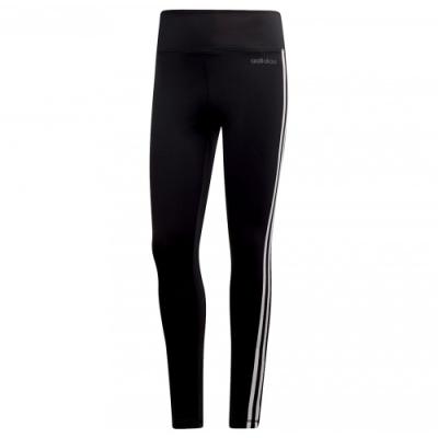 adidas 緊身褲 運動 休閒 健身 訓練 女款 黑 DU2040 2 Move 3-Stripes