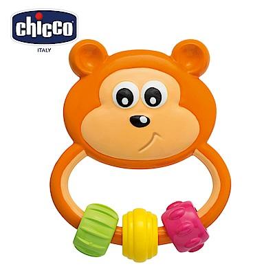 chicco-寶貝學習小熊手搖鈴