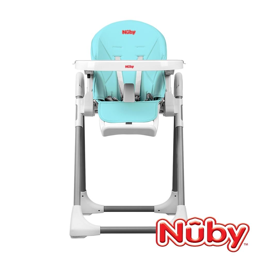 Nuby_多功能成長型高腳餐椅-蘇打藍