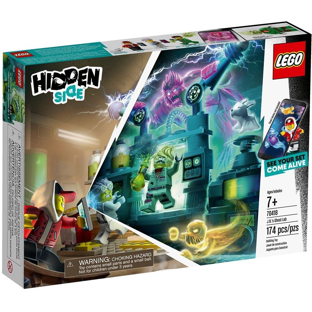 樂高LEGO 幽靈秘境系列 - LT70418 J.B. 的捉鬼實驗室