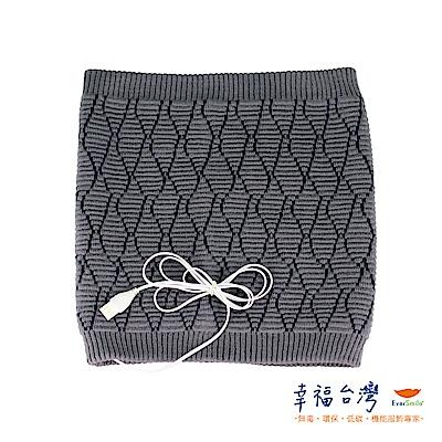 幸福台灣-發熱羊毛針織保暖圍脖(氣質灰)-台灣製造