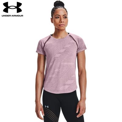 【UNDER ARMOUR】UA 女 Phantom Run 短T-Shirt,1367534-698