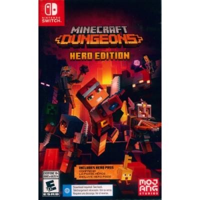 我的世界:地下城 英雄版 Minecraft Dungeons Hero Edition - NS Switch 英日文美版