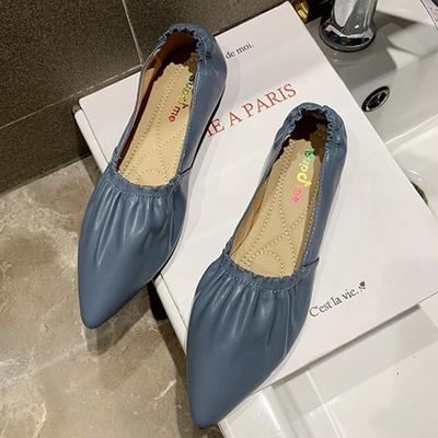 KEITH-WILL時尚鞋館-(現貨)狂賣千雙好感印象百搭鬆緊尖頭鞋(共1色)