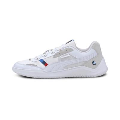 PUMA-BMW MMS DC Future 男女賽車運動鞋-白色