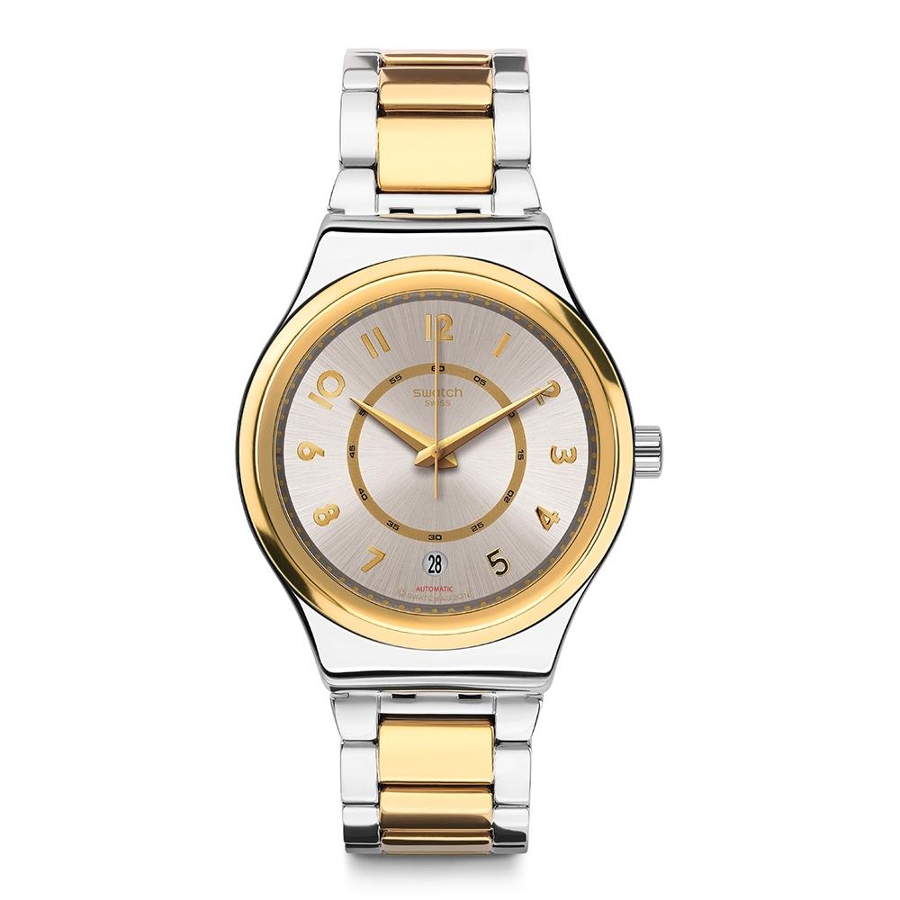 Swatch 金屬 Sistem51機械錶 SISTEM NUGGET -42mm
