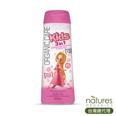 澳洲Natures Organics 植粹兒童泡泡洗髮沐浴露(Bliss)400ml