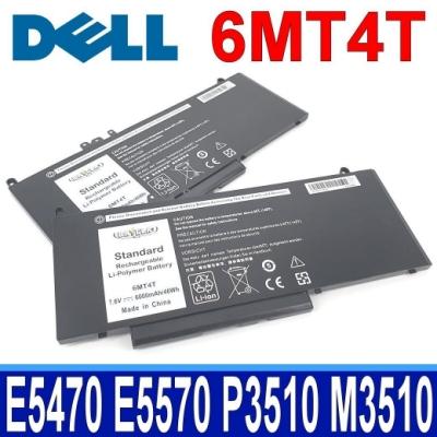 DELL 6MT4T 高品質 電池 DELL Latitude E5270 E5470 E5570 DELL Latitude 14 5000 14-E5470 Latitude 15 5000