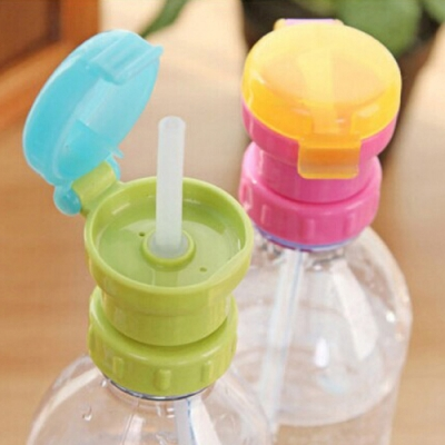 Baby童衣 幼兒外出寶特瓶水壺蓋 兒童便攜式瓶裝飲料防溢吸管蓋 外出吸管蓋 88519