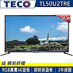 東元 50吋 真4K 液晶電視