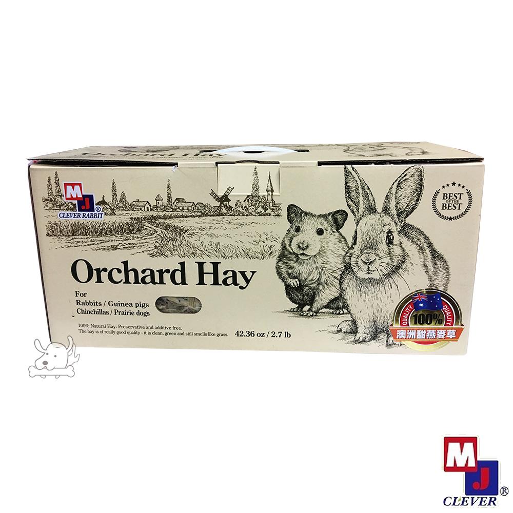 MJ 萌洲 高優質 牧草系列 甜燕麥草 2.7磅 X 1盒