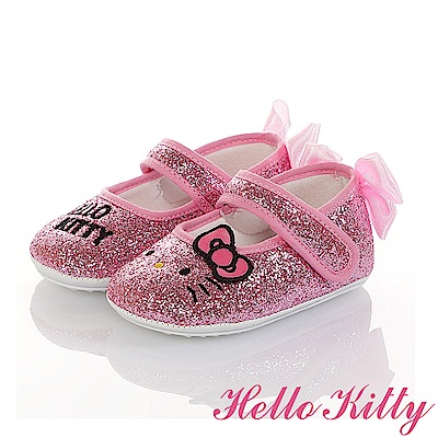 HelloKitty童鞋 金蔥輕量減壓寶寶學步娃娃鞋-桃