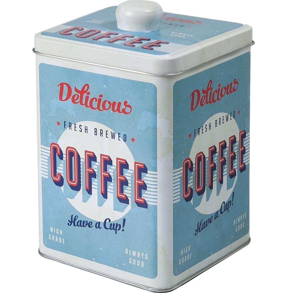《IBILI》復古插畫咖啡收納罐(16.7cm)