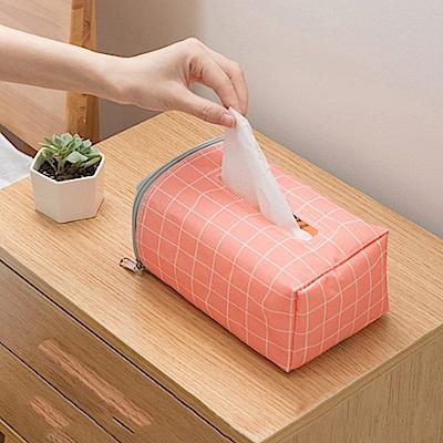 [aiken]汽車椅背面紙掛袋2入組(隨機出貨)