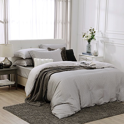 鴻宇 雙人加大床包兩用被套組 天絲300織 賽維爾 台灣製