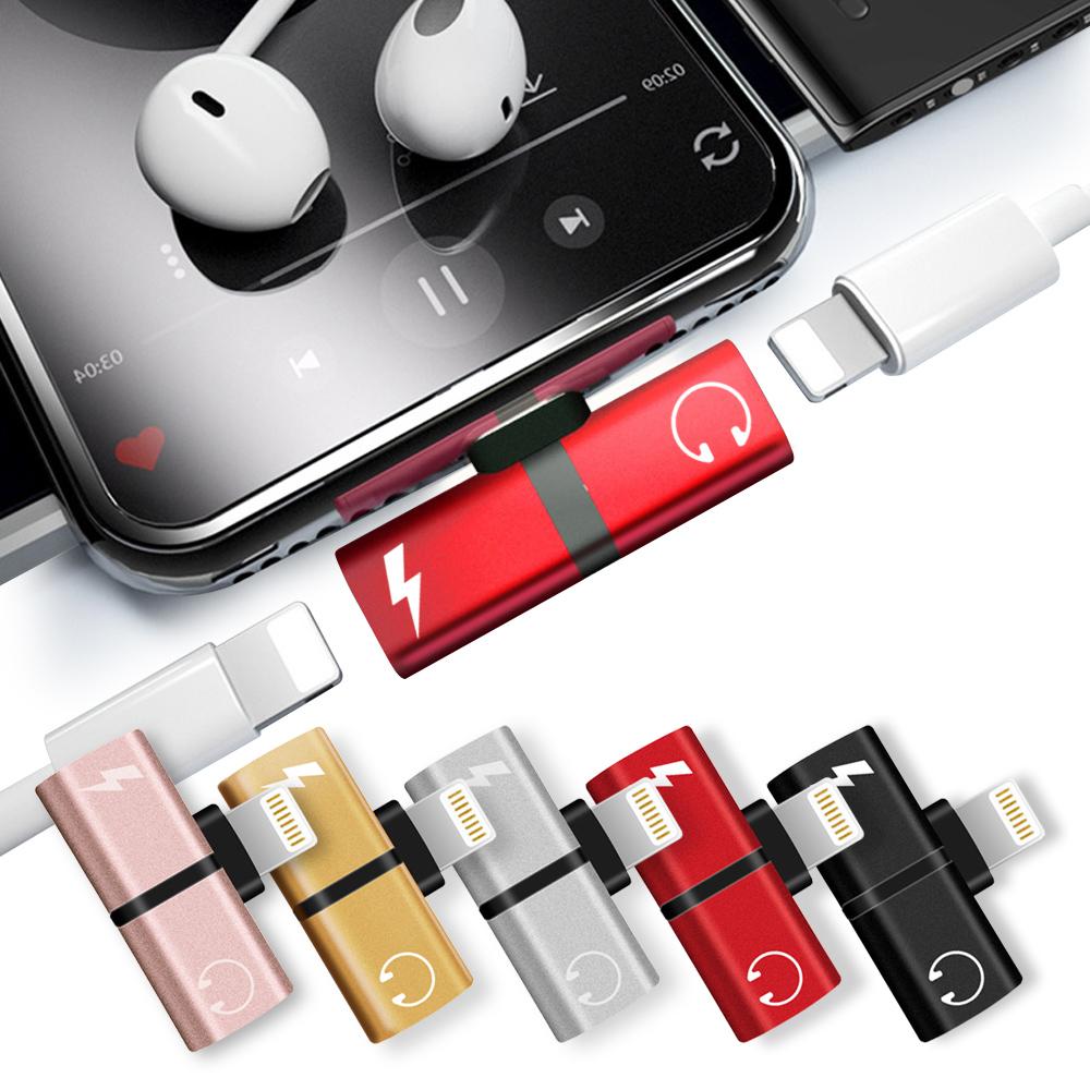 HANG iPhone Xs Max等雙Lightning充電耳機二合一轉接器