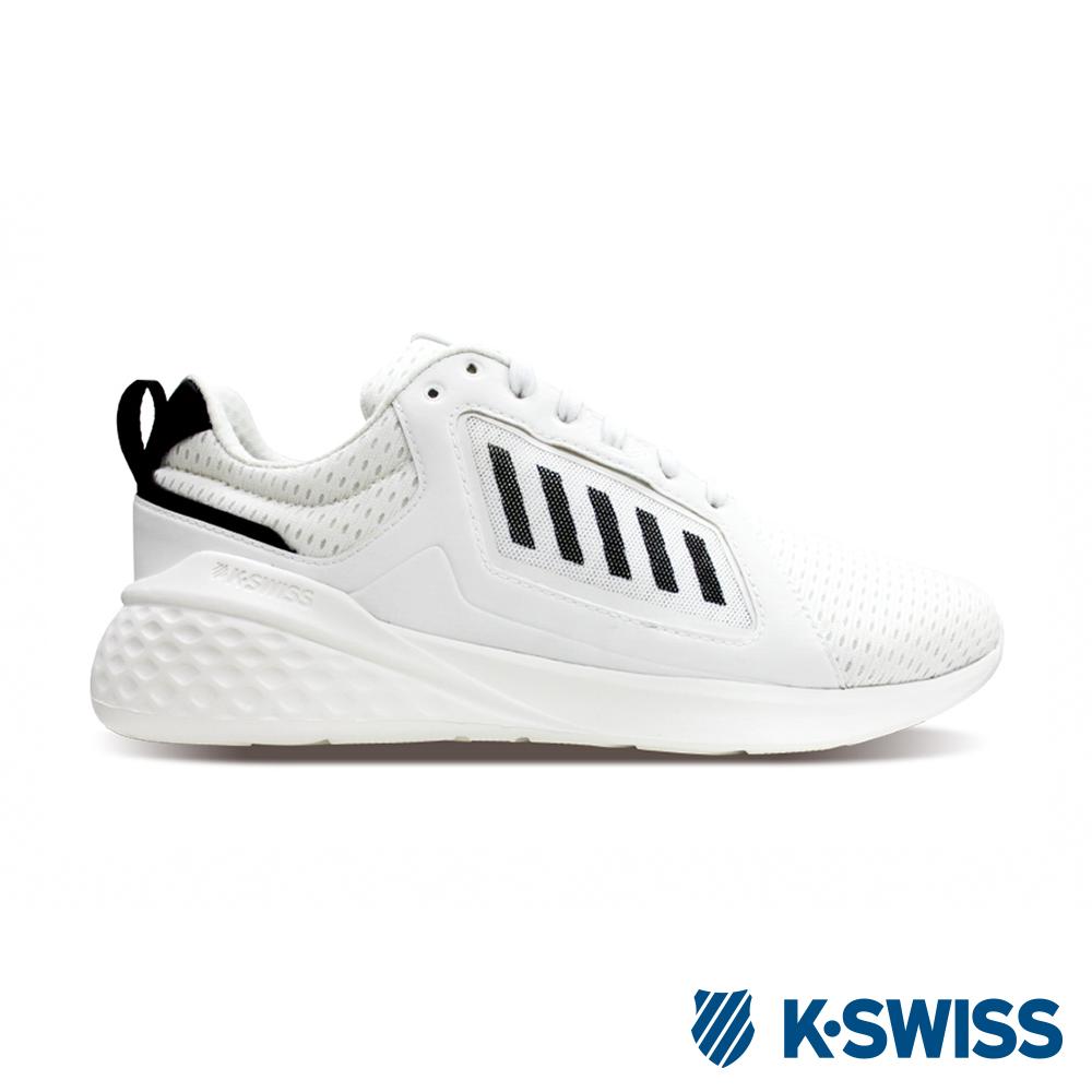 K-SWISS Getty輕量訓練鞋-男-白/黑
