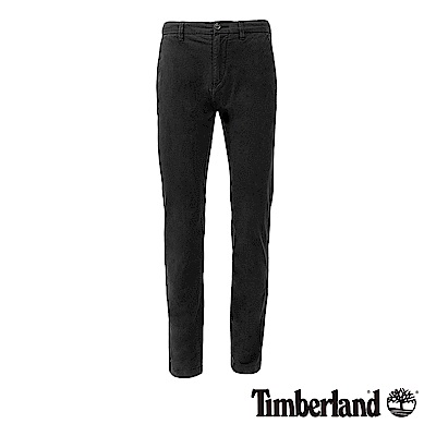 Timberland男款黑色Sargent Lake彈性斜紋休閒褲 | A1V6Y