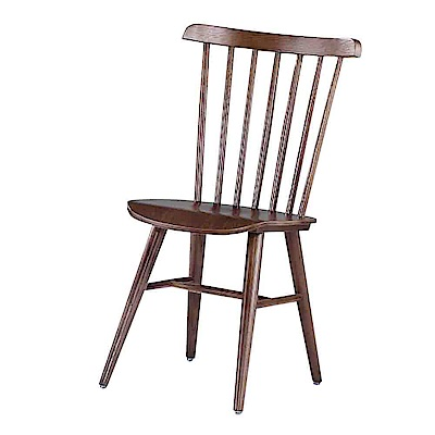 Bernice-奧提斯胡桃休閒餐椅/單椅-41x49x84cm