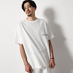 寬版短袖T恤素色棉tee(3色) ZIP日本男裝