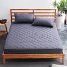 美夢元素 馬卡龍-保潔床墊-鐵灰(加大)