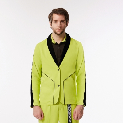 L ARMURE TCool 男裝 西裝外套 螢光綠