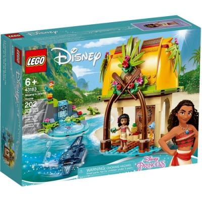 樂高LEGO 迪士尼公主系列 - LT43183 莫娜的島嶼之家