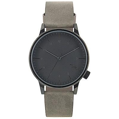KOMONO Winston Regal 腕錶-空靈灰/41mm