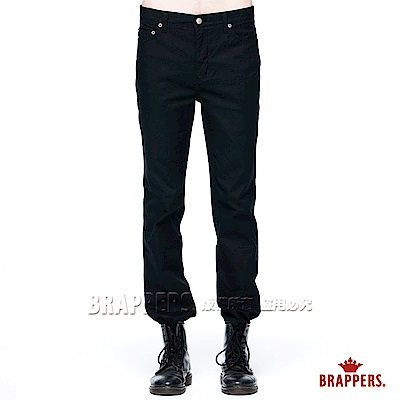 BRAPPERS 男款 HC Cargo系列-彈性直筒褲-黑